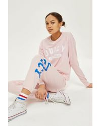 Juicy Couture - Varsity Long Sleeve T-shirt By Juicy By - Lyst