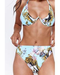Jaded London - sea Print Bikini Bottoms By - Lyst