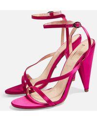 TOPSHOP - Riz Strappy Sandals - Lyst