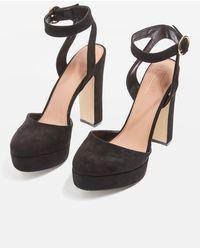 TOPSHOP - Selina Platform Shoes - Lyst