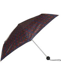 TOPSHOP - Check Umbrella - Lyst