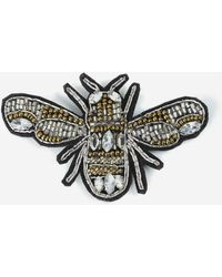 TOPSHOP - Embellished Bumblebee Patch - Lyst