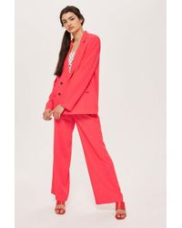 TOPSHOP - Slouch Suit Trousers - Lyst