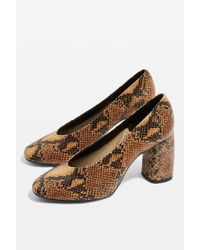 TOPSHOP - Gwenda Court Shoes - Lyst