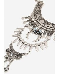 TOPSHOP - Mega Collar Necklace - Lyst