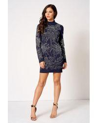 Club L - Embellished Mini Bodycon Dress By - Lyst