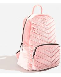 Skinnydip London - Lucy Pink Backpack By Skinnydip - Lyst