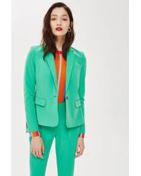 TOPSHOP - Tall Single Breasted Suit Jacket - Lyst