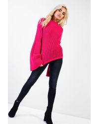 Glamorous - Flare Sleeve Knitted Jumper By - Lyst