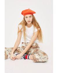 TOPSHOP - Slubby Lettuce T-shirt - Lyst