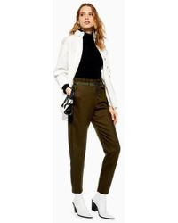 TOPSHOP - Luxe Joggers - Lyst