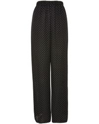 Oh My Love - Spot Print Trousers By - Lyst