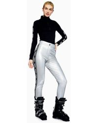 TOPSHOP - Side Logo Trousers By Sno - Lyst