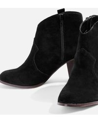 Miss Kg | Sade Black High Heel Ankle Boots By | Lyst