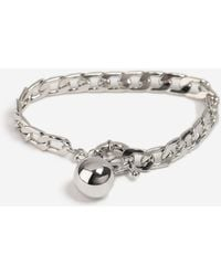 TOPSHOP - Chain And Ball Bracelet - Lyst