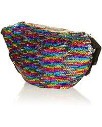 Jaded London - Rainbow Sequin Festival Bumbag By - Lyst