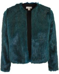 Band Of Gypsies - Faux Fur Jacket By - Lyst