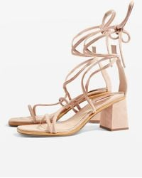 TOPSHOP - Wide Fit Nashville Sandals - Lyst
