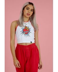 Illustrated People - Heart And Dagger Top By - Lyst
