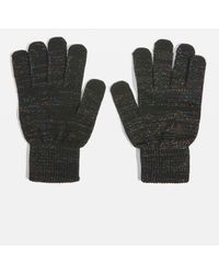TOPSHOP - Knitted Winter Gloves - Lyst
