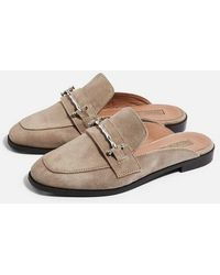 TOPSHOP - Kyra Backless Loafers - Lyst