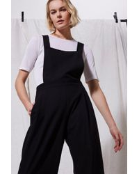 3f2c02e2308 Lyst - Topshop Judo Cropped Jumpsuit By Boutique in Gray