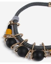 TOPSHOP - chunky Bead Necklace - Lyst