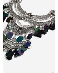 TOPSHOP - Mega Tassel Necklace - Lyst