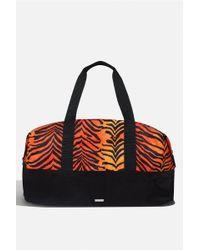 Skinnydip London - corrine Tiger Gym Bag By Skinnydip - Lyst fcadba19c1cfe