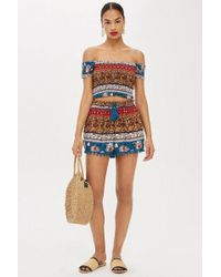 Band Of Gypsies - Printed Shorts By - Lyst