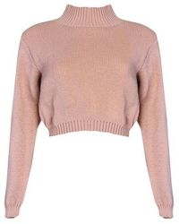 Glamorous - high Neck Knitted Jumper By - Lyst