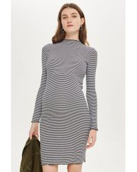 TOPSHOP - Maternity Lettuce Bodycon Dress - Lyst
