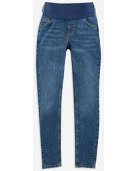 TOPSHOP - maternity Under The Bump Jamie Jeans - Lyst