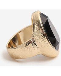TOPSHOP - Organic Stone Ring - Lyst