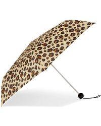 TOPSHOP - Leopard Print Umbrella - Lyst