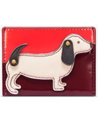 Tory Burch - Dachshund Slim Card Case - Lyst