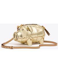Tory Burch - Metallic Pig Mini Bag | 701 | Mini Bags - Lyst