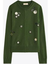 Tory Burch Embellished Cardigan