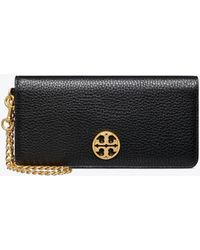 Tory Burch - Chelsea Wristlet Envelope (black) Wristlet Handbags - Lyst