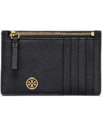 Tory Burch - Robinson Slim Card Case - Lyst