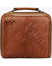 Tory Burch - Arthur Fur Briefcase - Lyst