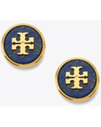 Tory Burch - Semi-precious Stud Earring | 488 | Earrings - Lyst