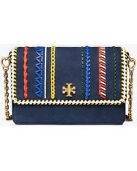 Tory Burch - Kira Whipstitch Double-strap Shoulder Bag - Lyst