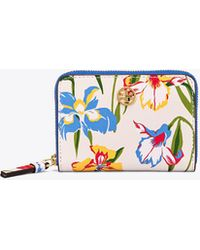 Tory Burch - Printed Floral Coin Case - Lyst