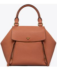 Tory Burch - Half-moon Satchel - Lyst