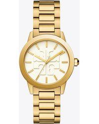 Tory Burch - Tbw2010 Gigi Gold Tone 36mm Women's Watch - Lyst