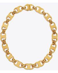 Tory Burch - Gemini Link Necklace - Lyst