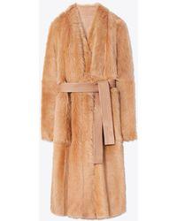 Tory Burch - Frances Wrap Coat - Lyst
