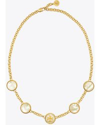 Tory Burch - Semiprecious Multi Necklace - Lyst