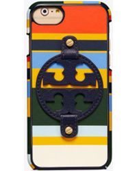 Tory Burch - Miller Printed Leather Case For Iphone 8 - Lyst
